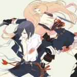 薬研藤四郎と乱藤四郎(刀剣乱舞)